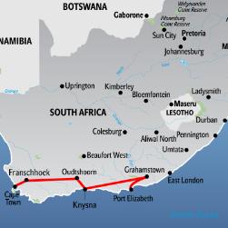 Karte Südafrika Garden Route.Garden Route Südafrika Im Mietauto Ins Ferien Paradies
