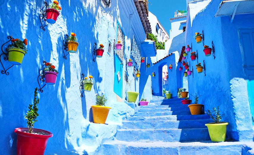 Chefchaouen Urlaub Marokko