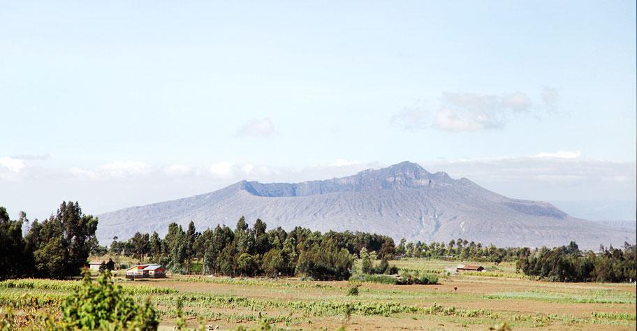 Mount Longonot Vulkan Kenya
