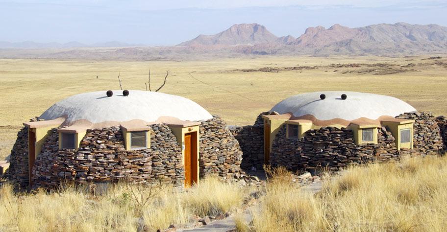 Namibia Lodge Wüste