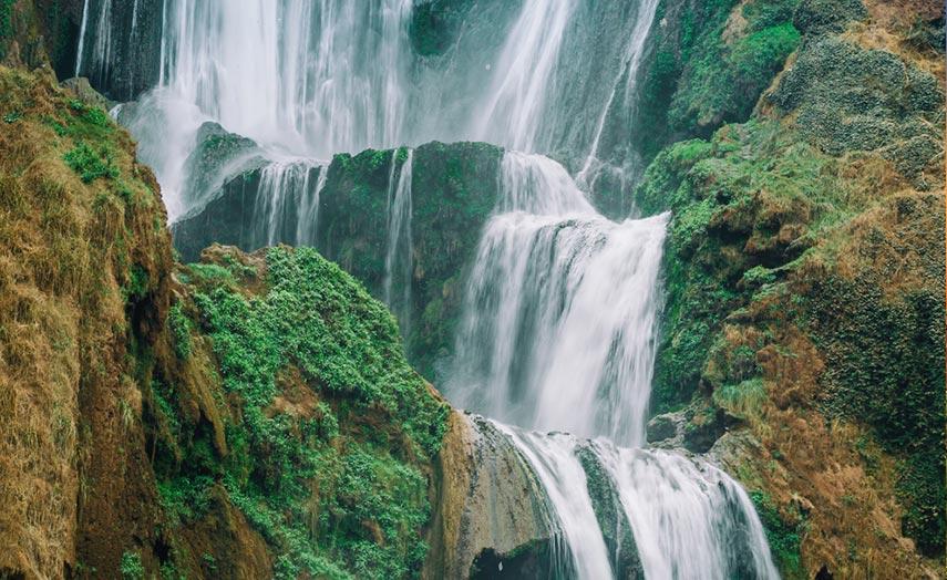 Ouzoud Wasserfall Marokko nähe Marrakesch