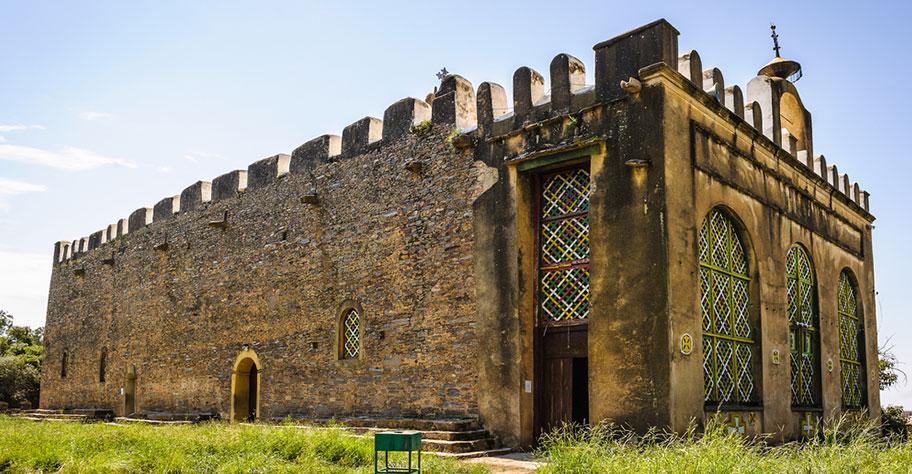 äthiopien weltkulturerbe ruinen von gondar