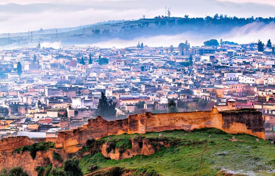 Fès Marokko Königsstädte