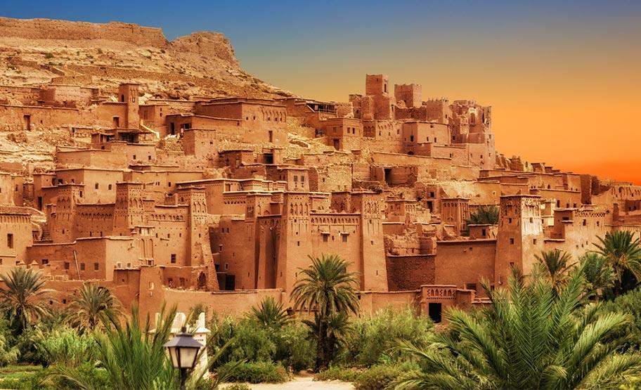 Kasba Königsstädte Marokko