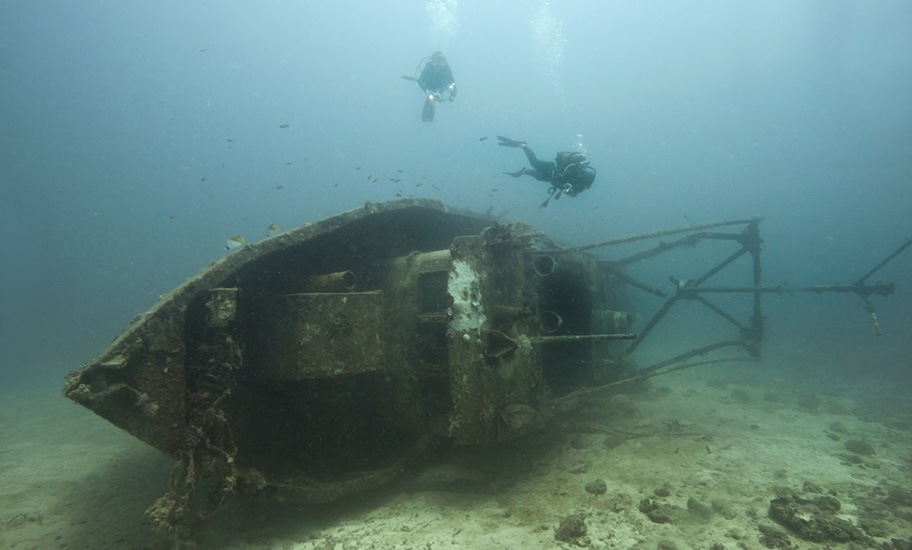 madagaskar schiffswrack tauchen