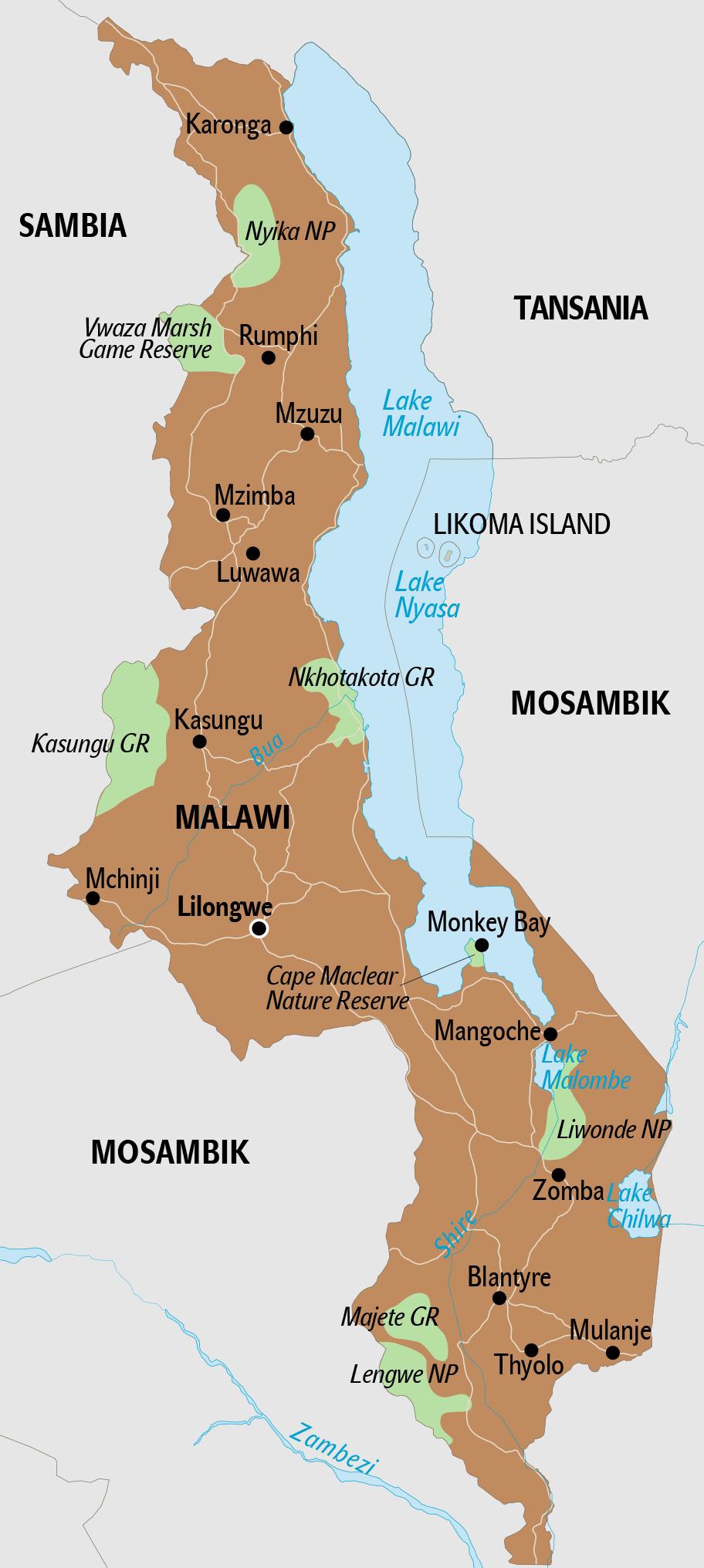 Malawi Reisetipps Landerinfos Reisevorbereitung