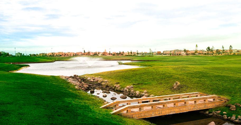 Montgomerie golf club bridge