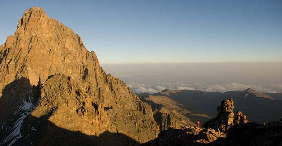 Mount Kenya Wanderung
