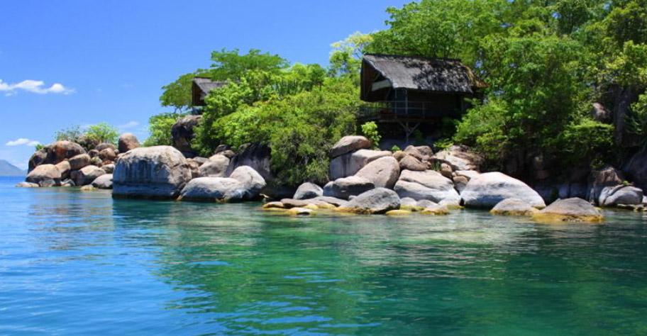 Mumbo Island - Ideal für Badeferien auf Malawi