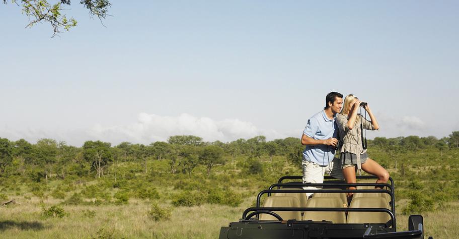 Namibia Flitterwochen Safari Paar