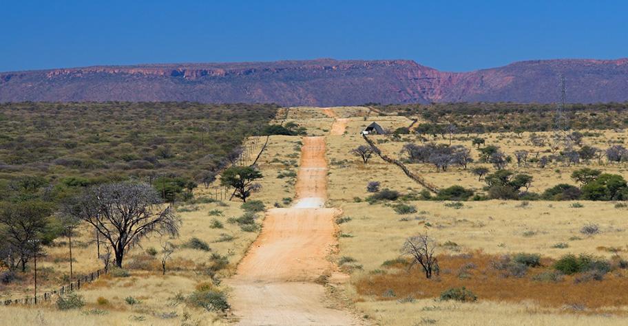 Namibia Reiseinformationen Schotterpiste für Autos nicht asphaltiert