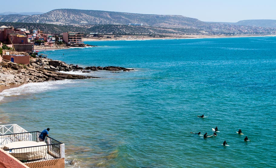 Surfen in Marokko Taghazout