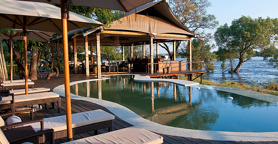Luxus Hotel Livingstone toka leya