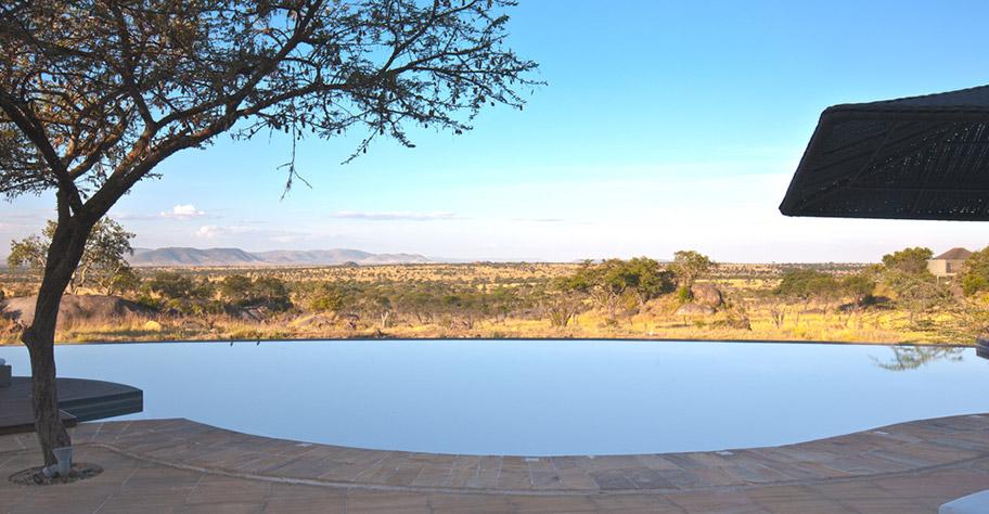Zambia Safari Lodges mit schönem Pool